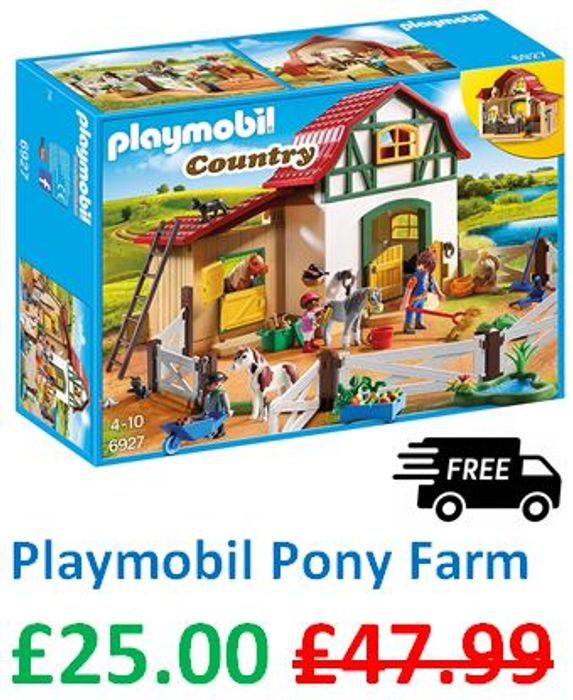 Playmobil Pony Farm - ALMOST HALF PRICE!