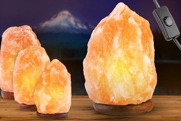 Natural Himalayan Salt Lamp 3 Sizes