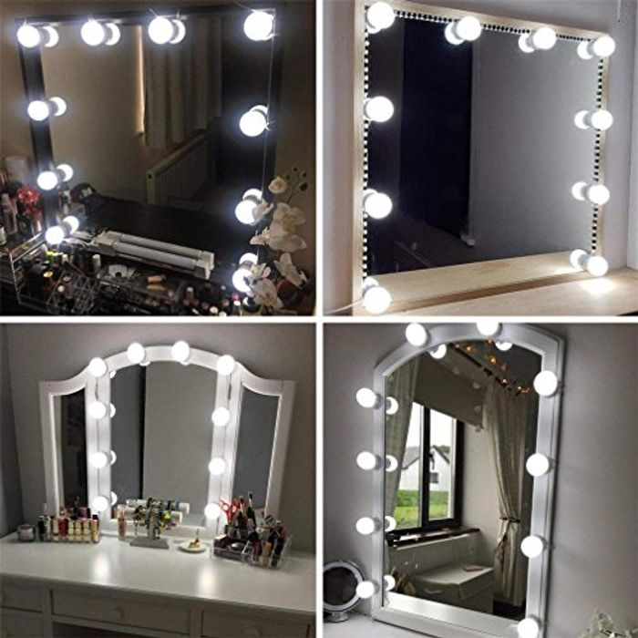Vanity Mirror Lights Kits Hollywood Style LED Makeup Lights