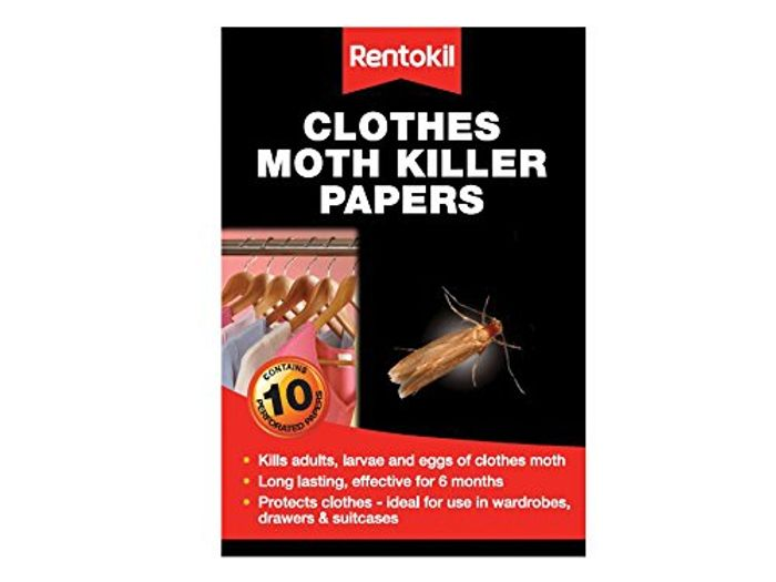 Rentokil Clothes Moth Killer Papers (Pack of 10)