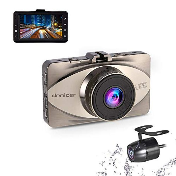 Price Drop! Front and Rear Sony Sensor 1080P FHD Car Camera Dual Dash Cam