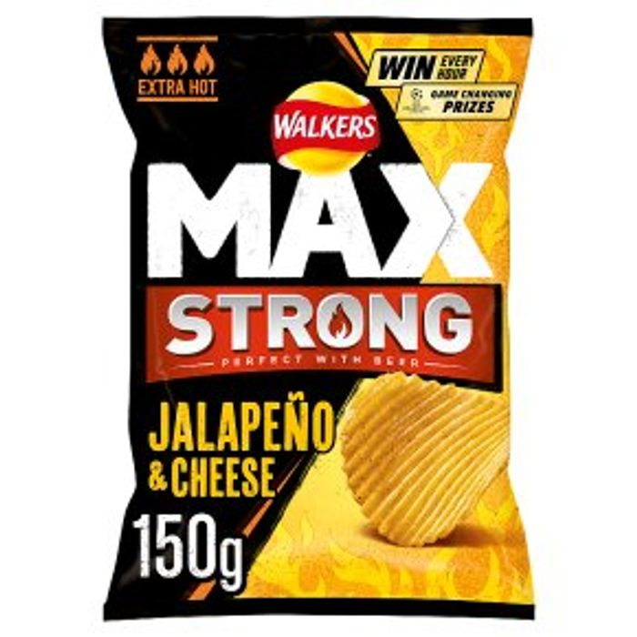 Cheap Walkers Max Jalapeo & Cheese150g Only £0.99