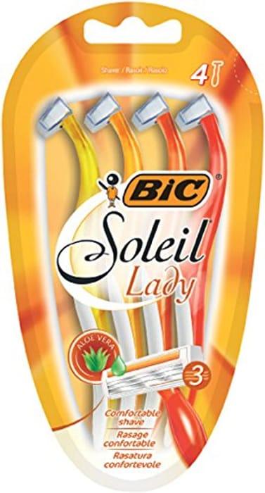 BIC Soleil Lady Lady Razors 4 Pack