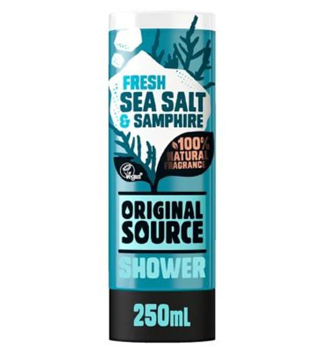 Cheap Original Source Sea Salt & Samphire Bodywash 250ml Only £1!
