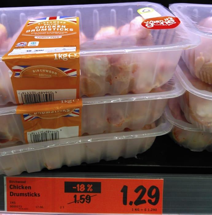 1kg British Chicken Drumsticks