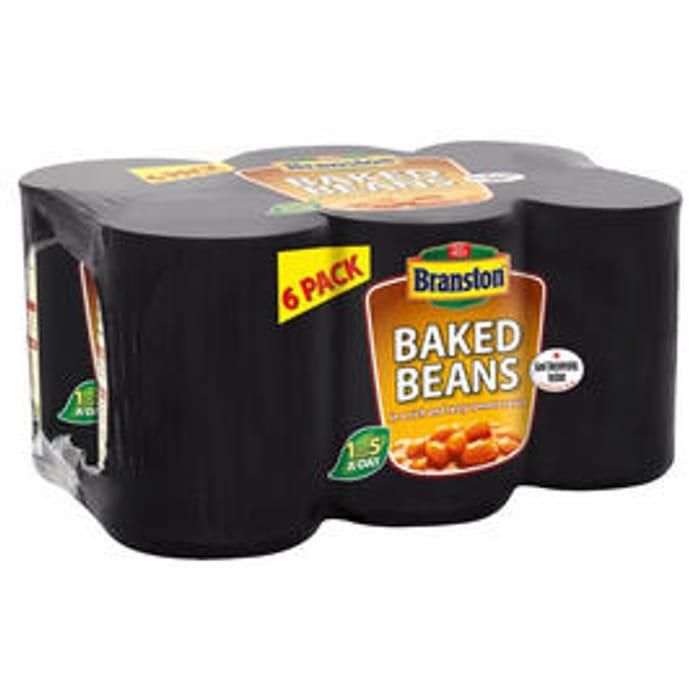 Branston Baked Beans 6 X 410g