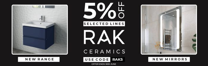 5% off Selected Lines