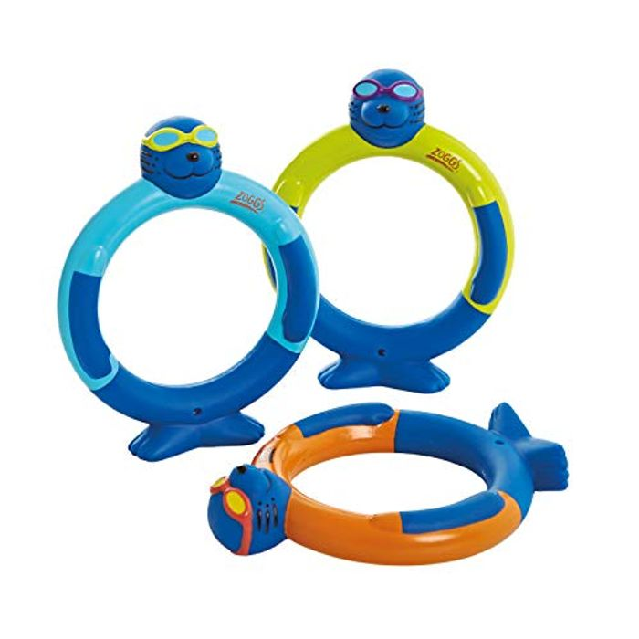 Cheap Zoggs Children's Zoggy Dive Rings Pool Toy and Game (Pack of 3) Only £6.37