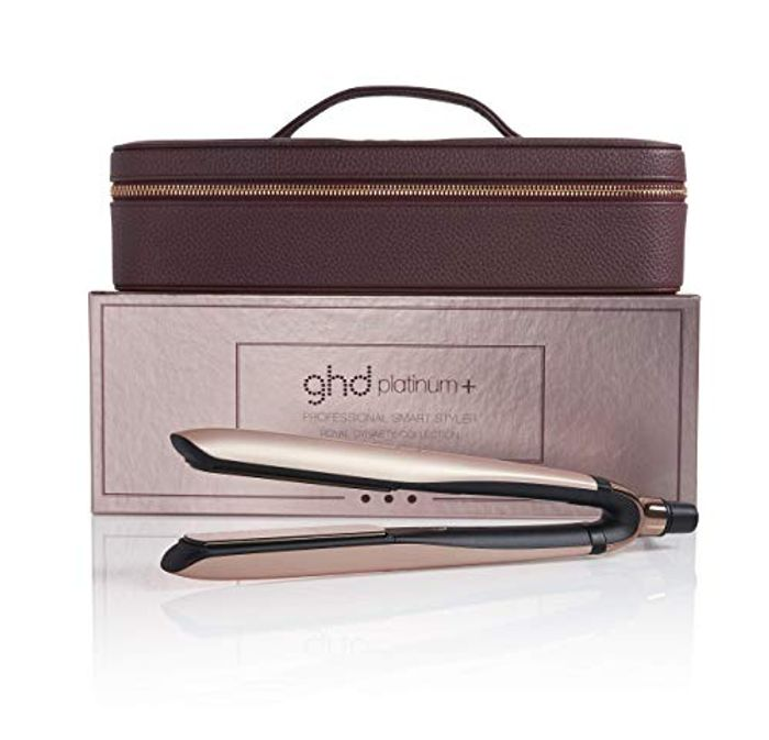 Ghd Platinum+ Styler Rose Gold Straighteners Limited Edition Gift Set