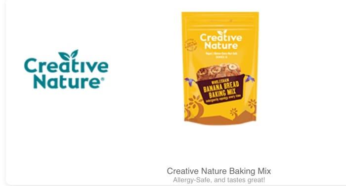 Creative Nature Baking Mixes at Tesco