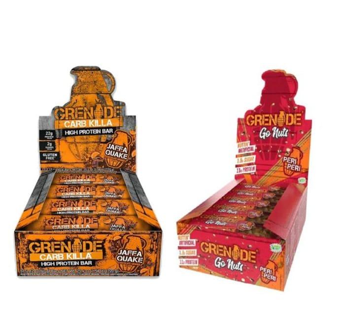 Grenade Case Combo Deal Jaffa + Peri Peri