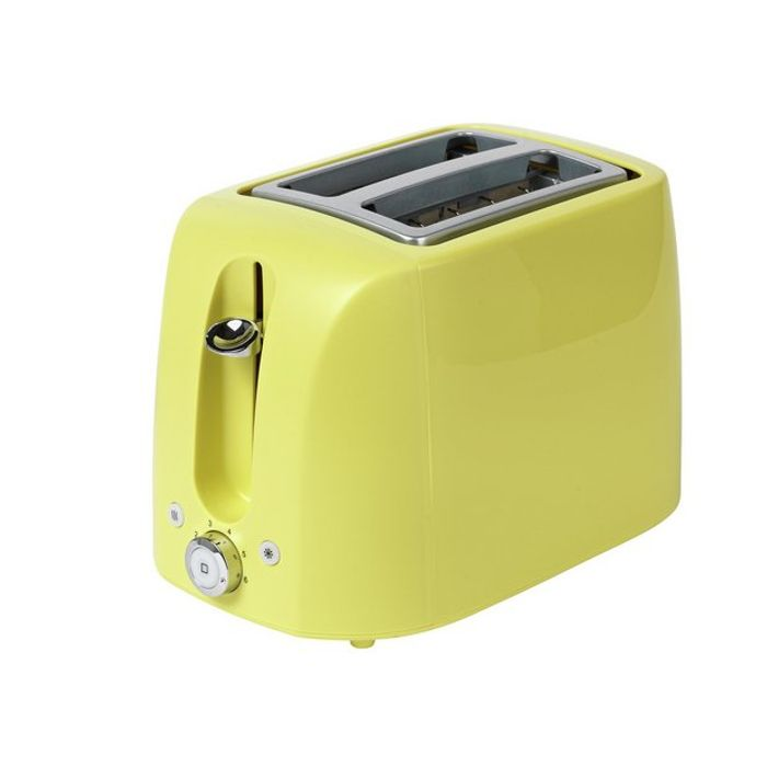 Cheap Cookworks 2 Slice Toaster - Green or Red - £9.99