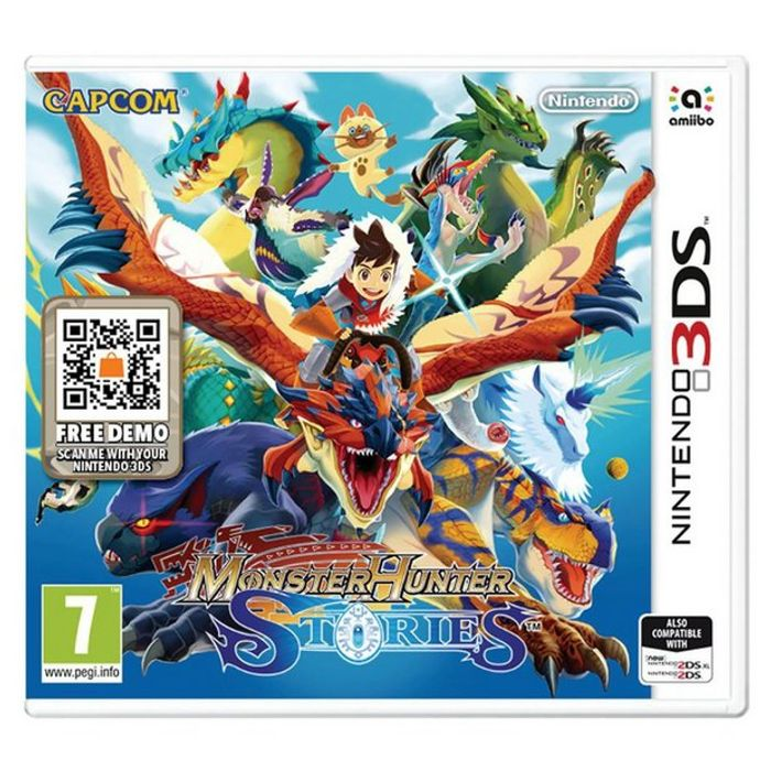 Cheap Monster Hunter Stories Nintendo 3DS Game Only £9.99 at Argos C&c