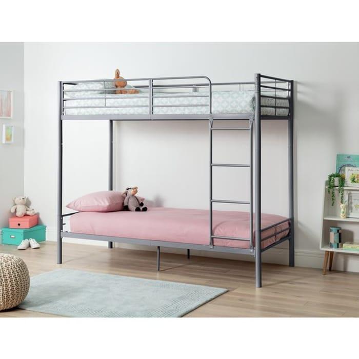 Argos Home Willen Silver Bunk Bed Only £83.33