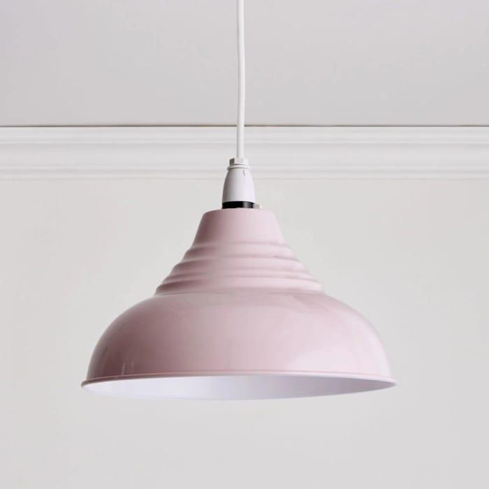 Wilko Vintage Pink Pendant Light Shade
