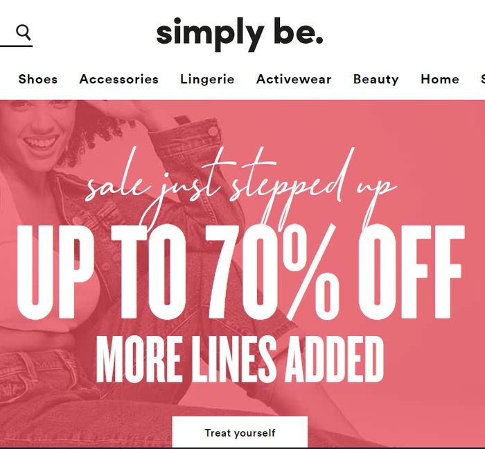 SIMPLY BE SALE - Further Reductions - Now up to 70% OFF