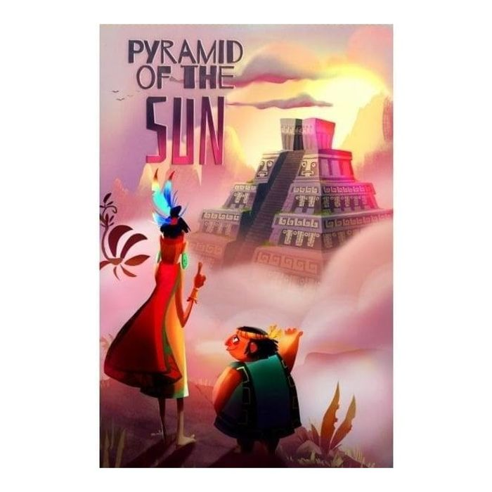 STRAWBERRY STUDIO Pyramid of the Sun