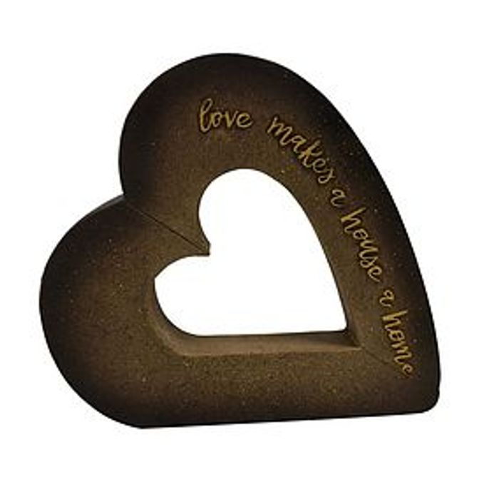 Cheap Keepers Lodge Heart Ornament Only £6