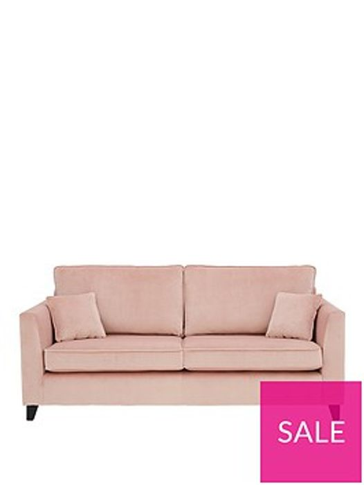 New Dante Fabric 3 Seater Sofa