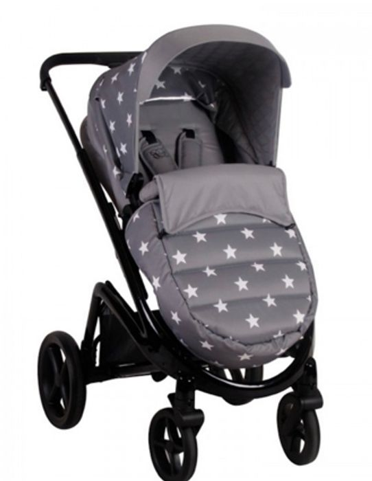 Special Offer - My Babiie MB300 Pushchair *Billie Faiers Collection* - Grey Star