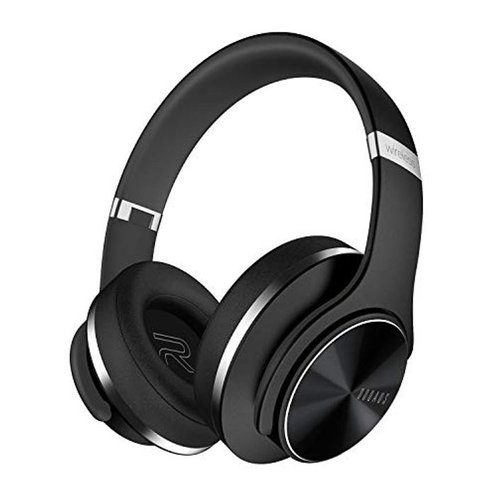 DOQAUS Bluetooth Headphones over Ear, [52 Hrs Playtime