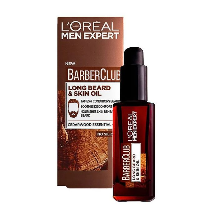 L'Oreal Men Expert Barber Club Long Beard Skin Oil 30ml