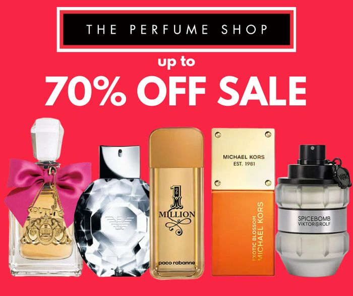 The Perfume Shop - up to 70% off Sale!