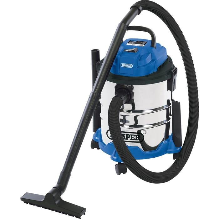 Draper 20L Wet & Dry Vacuum Cleaner 240V Only £40.98