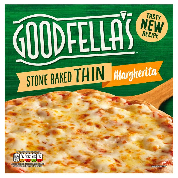 Goodfellas Stonebaked Thin Margherita Pizza