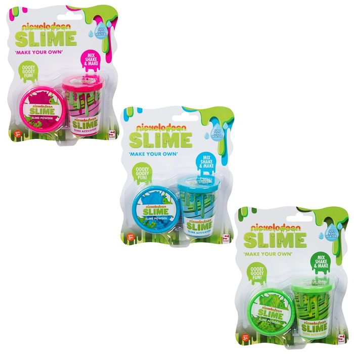 Cheap Nickelodeon Make Your Own Slime (Assorted) Only £2.5