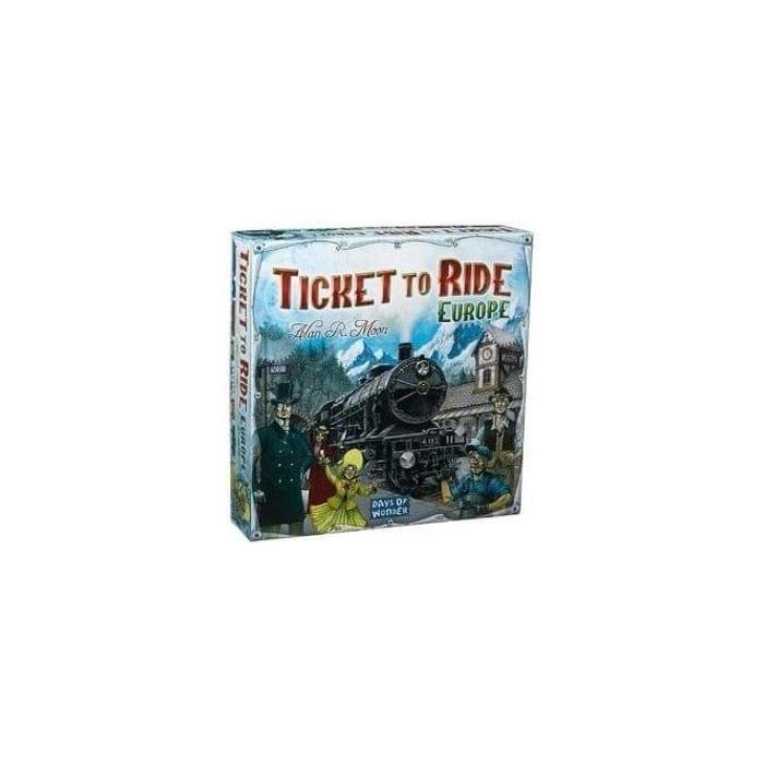 Ticket to Ride - Europe - Days of Wonder Board Game