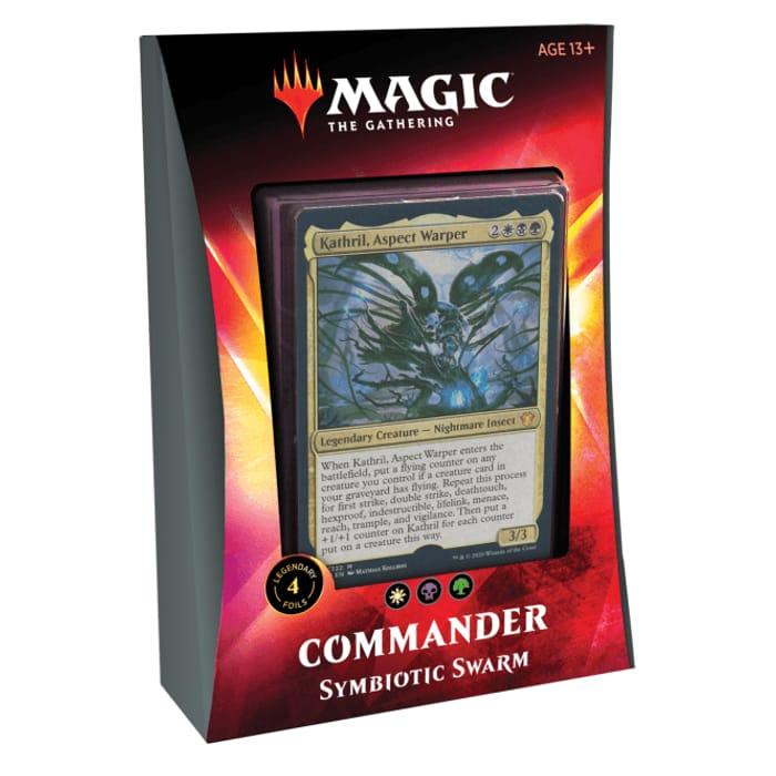 MAGIC the GATHERING Ikoria: Lair of Behemoths Commander Deck Symbiotic Swarm