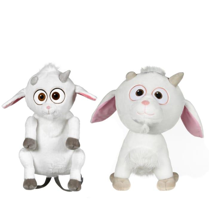 CHEAP! Despicable Me 3 Fluffy Unicorn Backpack & Medium Fluffy Unicorn Plush Toy