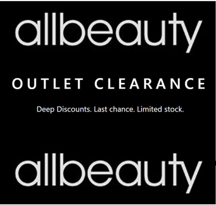 Special Offer - ALLBEAUTY CLEARANCE - 500+ Make-Up, Haircare, Skincare