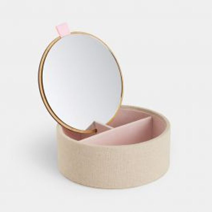 Bamboo Jewellery Box with Mirror - Save £7