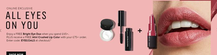 Free Gifts with Orders at Bobbi Brown
