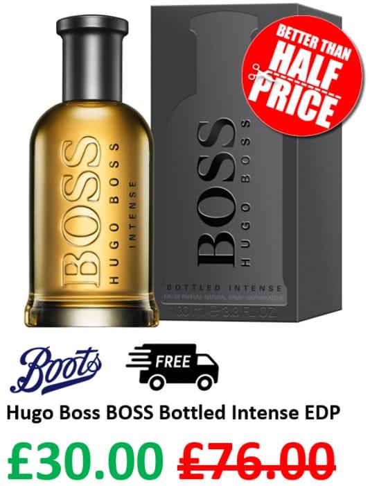 boss bottled 100ml boots