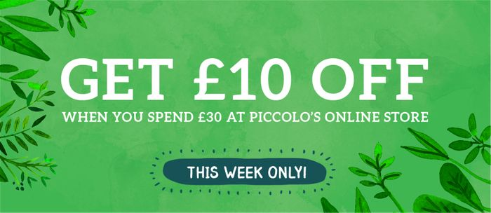 SAVE £10 When You Spend £30 or More*