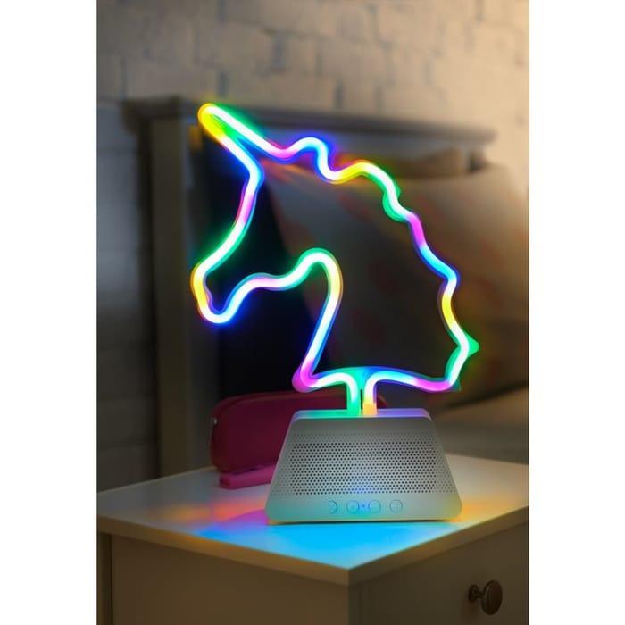 Byte Neon Light Unicorn Speaker (Limited Availability)
