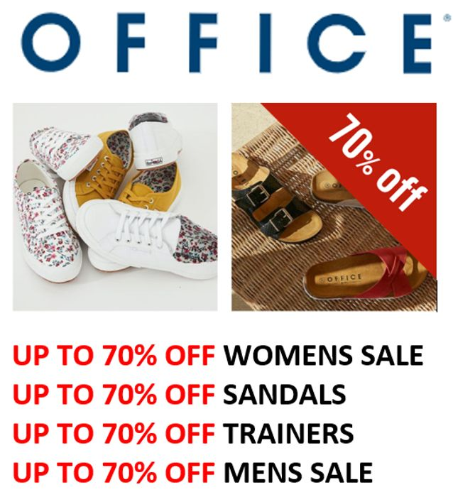 OFFICE SHOE SALE - up to 70% OFF