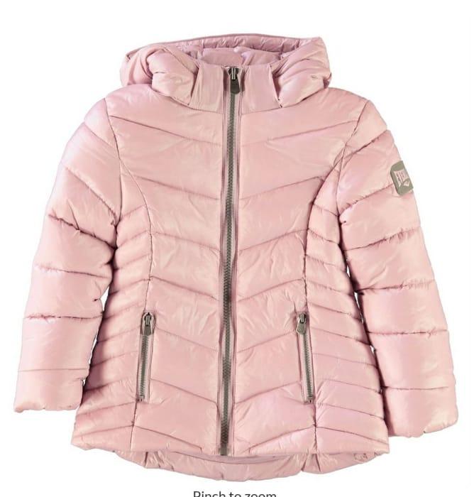 EVERLAST Bubble Jacket Infant Girls Age 5-5 & 6-7