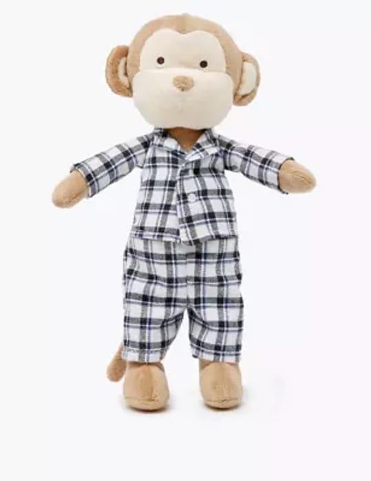 *SAVE £3* Monkey in Pyjamas Soft Toy