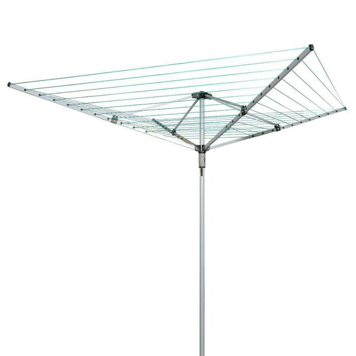 Cheap 50 Metre 4 Arm Rotary Clothes Line - £20 Delivered