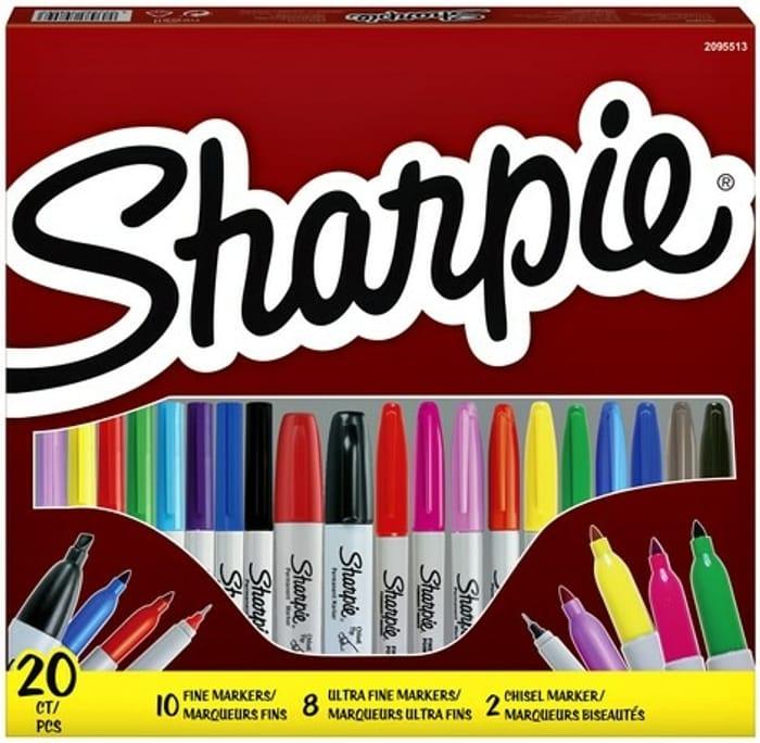 Sharpie 20 Piece Assorted Marker Set