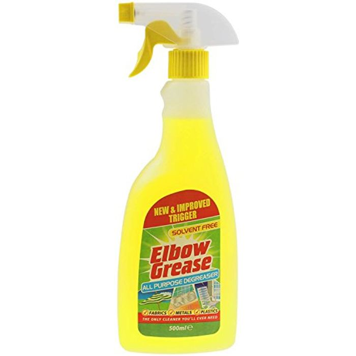 Back Again! Elbow Grease All Purpose Degreaser 500ml for £1 Only