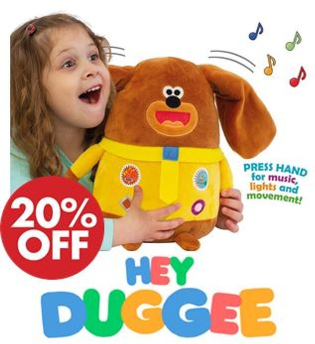 Hey Duggee - Musical Duggee on Sale From £31.99 to £24.99