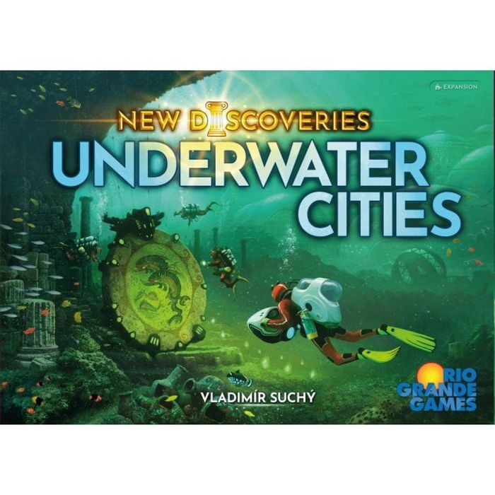 RENEGADE GAME STUDIOS Underwater Cities: New Discoveries Expansion