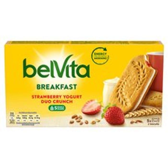 Best Price! Belvita Biscuit Strawberry & Yogurt Crunch 253G