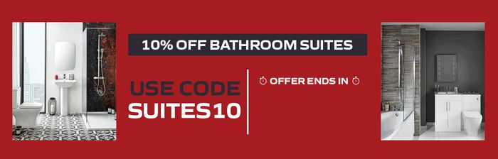 10% off Bathroom Suites