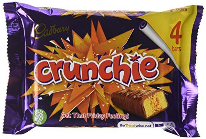 Cadburys Crunchie 4 Pack with Prime Delivery
